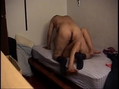 Hard anal session with slutty wife