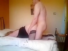 Fucking a blond mother i'd like to fuck cougar hard listen to her groan