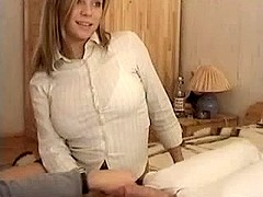 Love the large smile at the end with a face full of cum