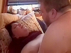 Me and my plump wife having sex enjoyment missionary style