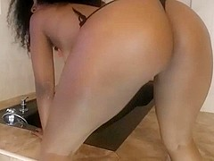 sexy lady with a fat ass
