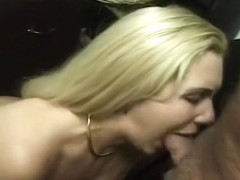Long Haired Blond Loves the Cock