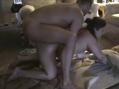 Buttfucking fat mom during the time that her hubby is at work