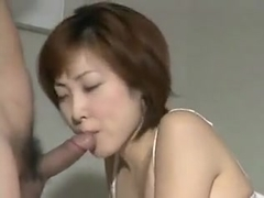 Gonzo Japanese vintage beautiful MILF
