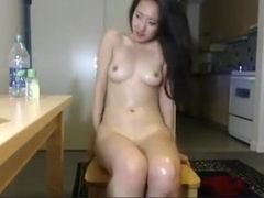 Sexy non-professional oriental multiple orgasms