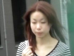 Brisk Asian princess gets nicely tricked during sharking meeting