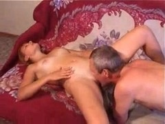 Old guy fuck beautiful blonde