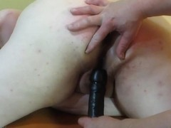Naughty Plump Ass Pale Skin Wife Punished