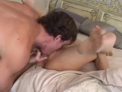 Hot slut showing her blowjob and sex skills