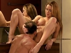 Love Creampie Big tits milf fucked in the bathroom