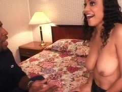 Shyla Haze and her black boyfriend have oral sex