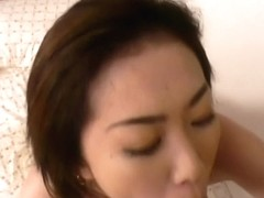Sexy Japanese mmilf in stocking licked and shagged in her muff