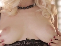 Horny pornstar in Fabulous Solo Girl, Stockings adult video