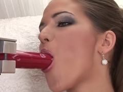 Horny pornstar Silvie Deluxe in hottest hairy, solo sex video