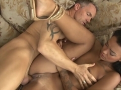 Exotic pornstars Harley Dean, Marcus London in Fabulous Small Tits, Black and Ebony adult movie