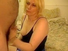 Dirty Blonde Doggy Fucked