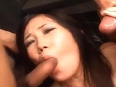 Yui Komine has ass fingered
