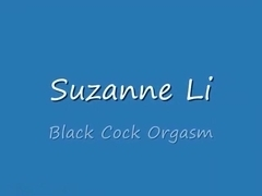 Dildoing Suzanne's hairy pussy
