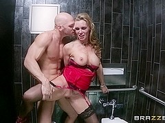 Milfs Like it Big: The Dinner Date. Tanya Tate, Johnny Sins