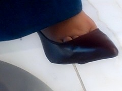 Candid Shoeplay part 1