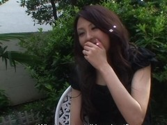 Arisa in Lonely and sexy housewife Arisa feeds a man and get fucked - AviDolz