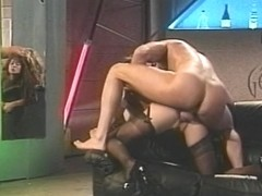 Massive mate receives his hard penis unfathomable throated by Asia Carerra