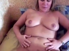 Mature latina couple pov blowjob, missionary and cowgirl action in the bedroom.
