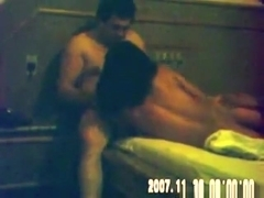 Latina has a threesome with 2 guys