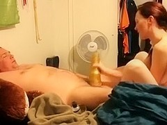 This fleshlight makes my soaked penis tingle with excitement