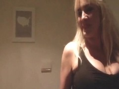 Slut blonde homemade