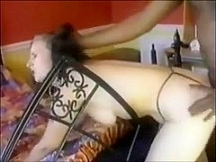Black bloke fucks in an amateur porn with a cutie