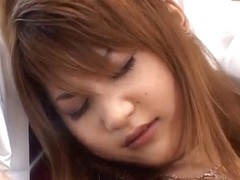 Asumi Mizuno gets many sex toys and licked shlongs in h