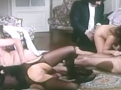 Horny Mature, Group Sex adult clip