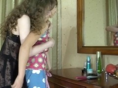 GirlsForMatures Clip: Leila and Laura C