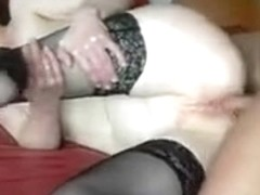 Boy and unattractive granny 1ST ANAL