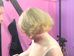 Incredible pornstar Molly Adams in crazy blonde, blowjob xxx video