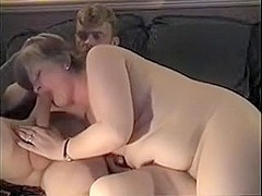 Aged and hubby playing
