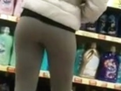 Ass in Tight Leggings
