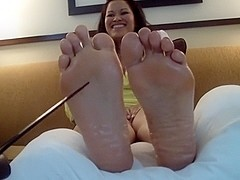 Asian Soles Tickled {HD}