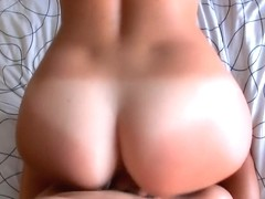 Girlfriend with big round tits and good ass