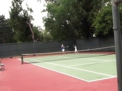 Gemma, Summer Slate - Tennis Lessons: How to Handle the Balls