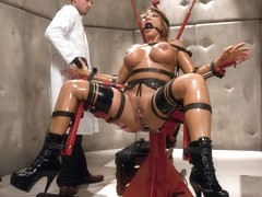 Ava Devine & Bill Bailey in The Mad Scientist and his Cheating Wife - SexAndSubmission