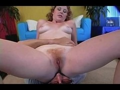 Redhead Cherry Acquires Her Furry Bush Drilled P.O.V.