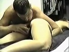 Dominant with a nice butt slut treats me with facesitting