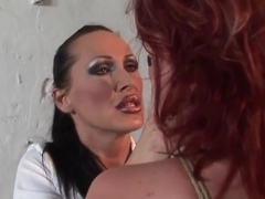 Angelina Blue gets tortured by Mandy Bright