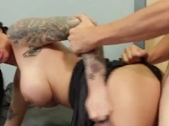 Hot and arousing Christy Mack seduces Tyler Nixon