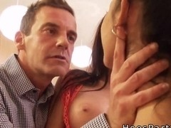 Amateurs pov banging at kitchen party