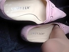 A little bit revving my engine with deluxe unutzer flats