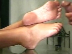 jerkin off on soles