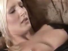 Blond german college girl gets fucked